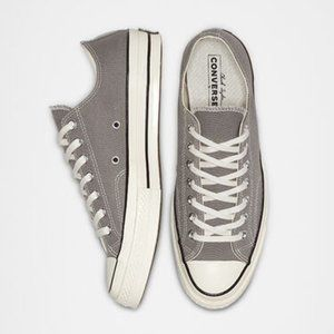 NEW CONVERSE Chuck Taylor 70 LOW TOP 9.5 GRAY